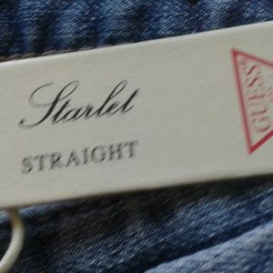 "GUESS Women's ""Starlet"" Straight Jeans- Sz 25 -NWT"